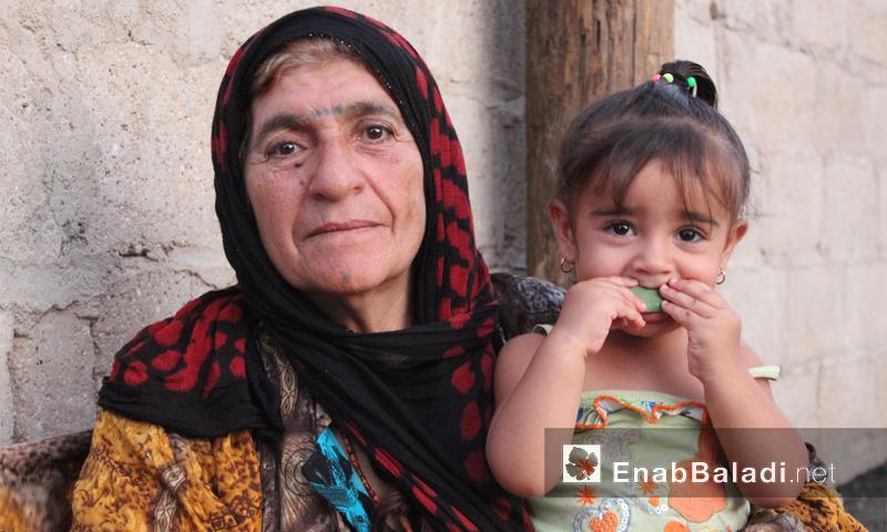 A Kurdish woman in the city of Qamishli – September 1 (Enab Baladi)