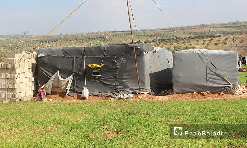 Bayadha Camp in the northern countryside of Idlib – (Enab Baladi)