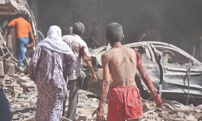 Qamishli bombing, July 27, 2016 (Reuters)