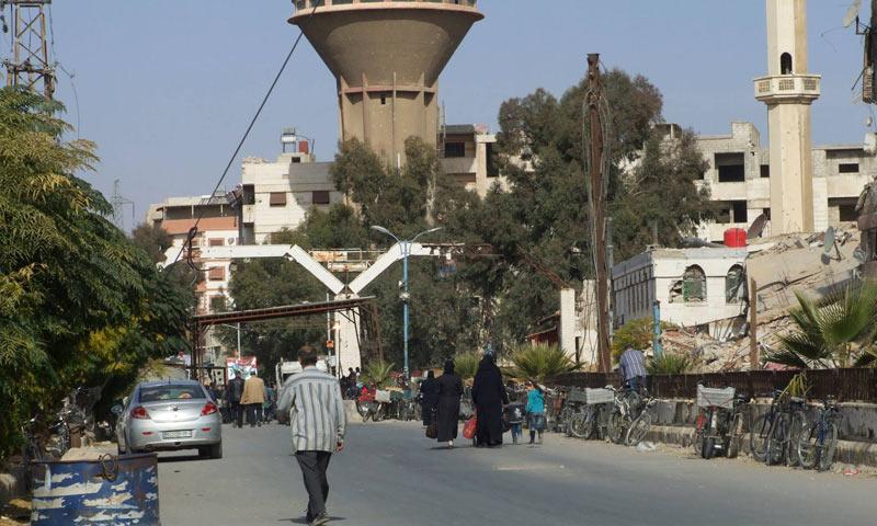 Babbila-Sidi Miqdad crossing in southern Damascus (Babbila Local Council)