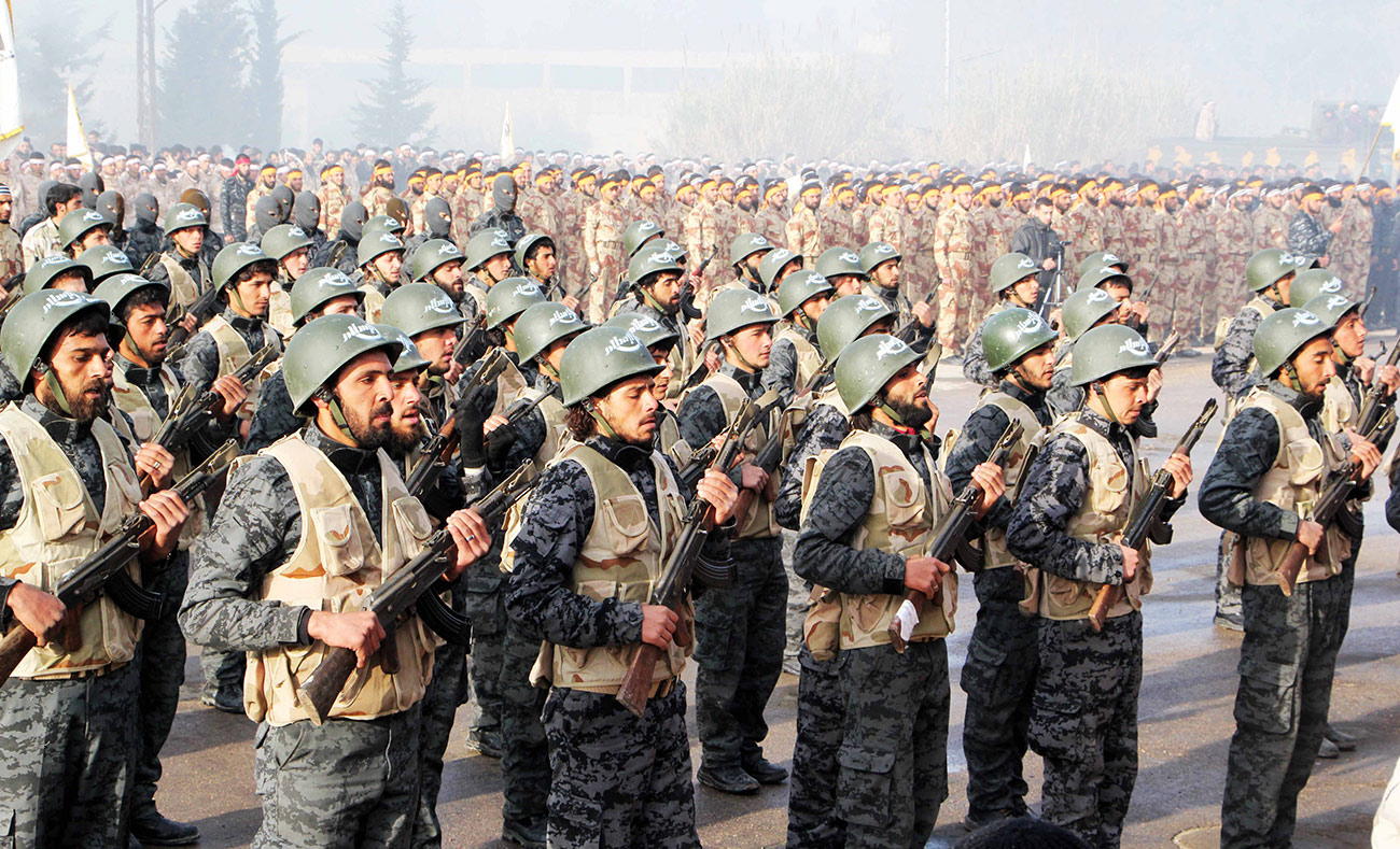 The largest military parade of Jaysh al-Islam in Eastern Ghouta - April 2015 (Jaysh al-Islam website)
