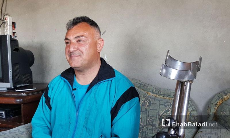 Sulayman al-Shaykh, a Syrian athlete from the city of al-Rastan (Enab Baladi)