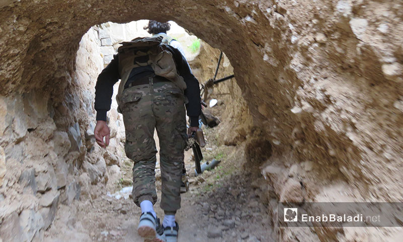 The Free Army at the Rastan Fronts in the northern countryside of Homs (Enab Baladi)