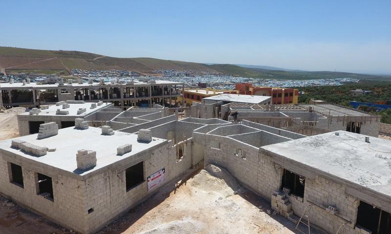 """The construction of the """"Dar al-Rahma"""" Orphanage (Ataa Association)"""