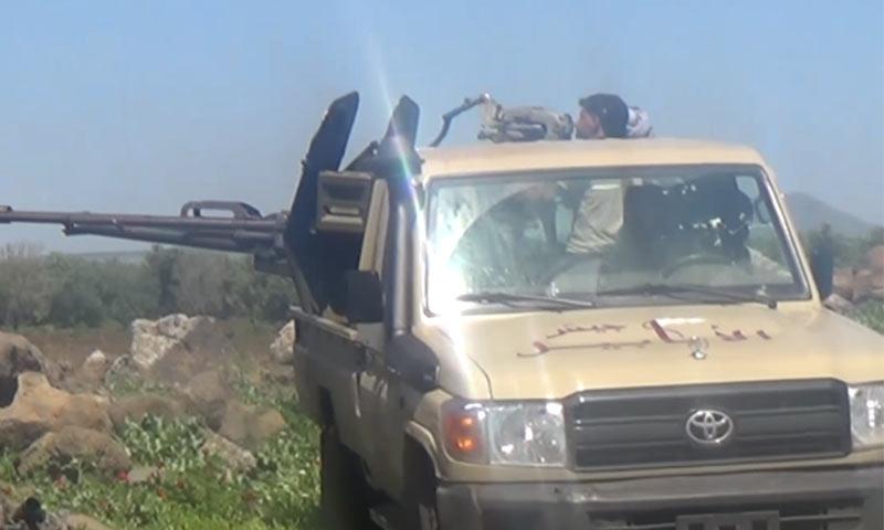 "Elements of ""Jaysh al-Ababil"" in Daraa – 2016 (YouTube)"