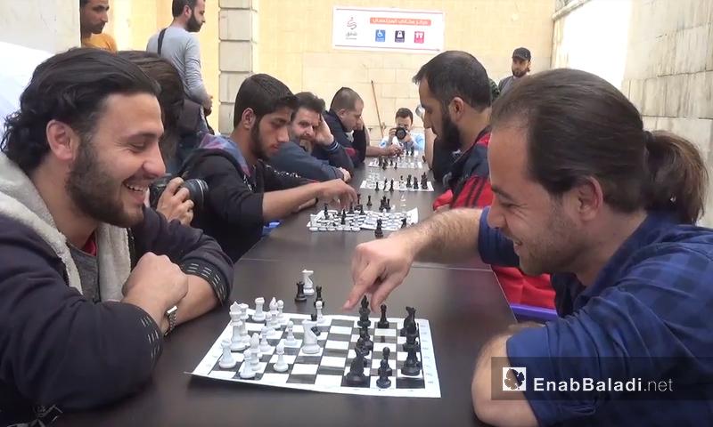 Chess Championship for amputees in Idilb – May 1. 2018 (Enab Baladi)