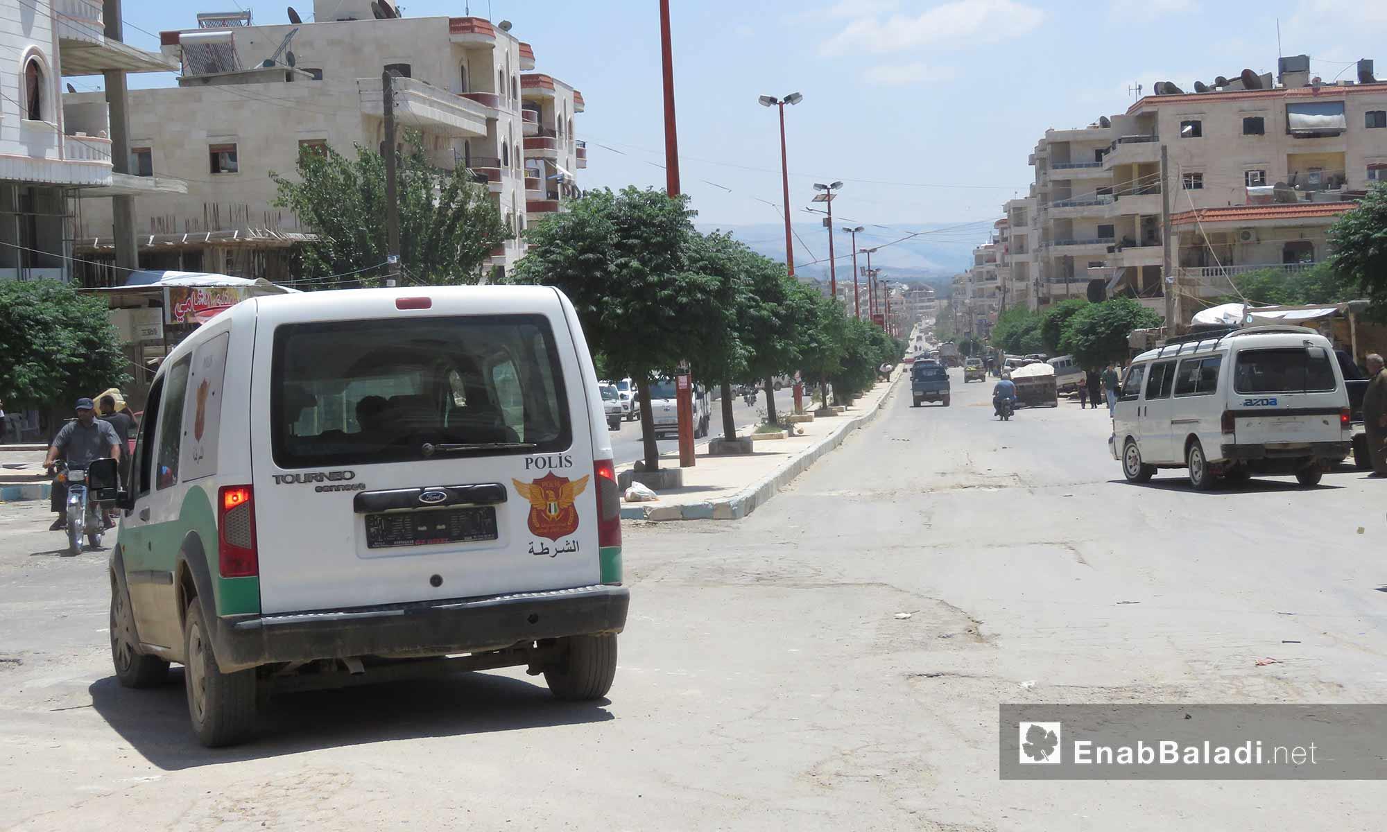 The neighborhoods of the city of Afrin, rural Aleppo- June 21, 2018 (Enab Baladi)