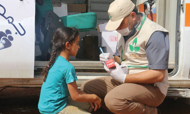 Ataa Mobile Clinics in rural Idlib (Ataa Association)