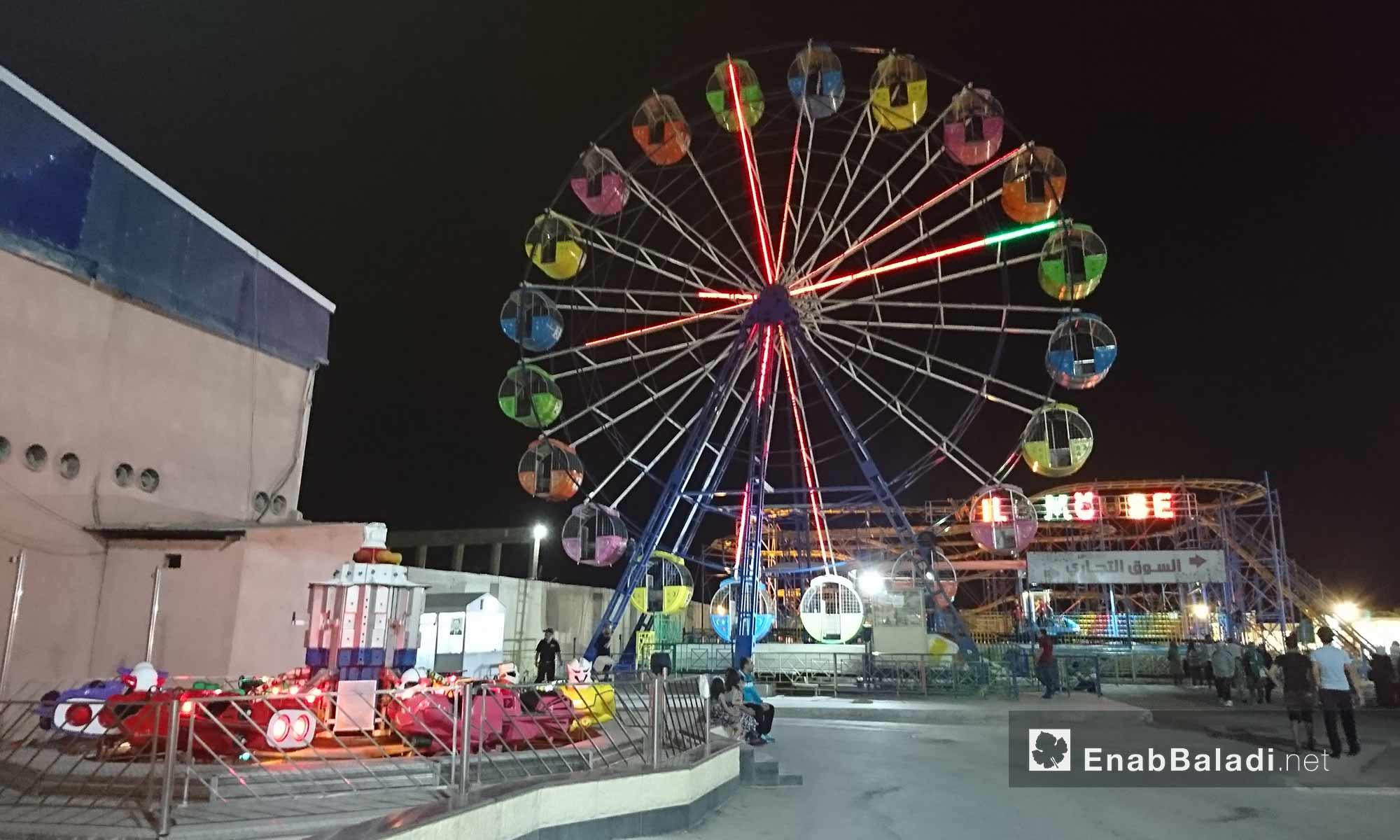 Amusement park at the Uptown Center, Mashrou Dummar – June 22, 2018 (Enab Baladi)