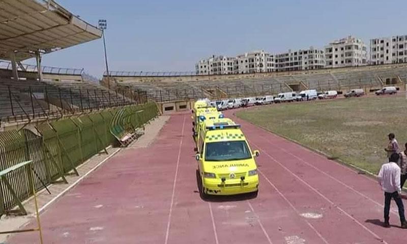 Emergency Unit in Idlib – June 2, 2018 (Facebook, Idlib Health Directorate)