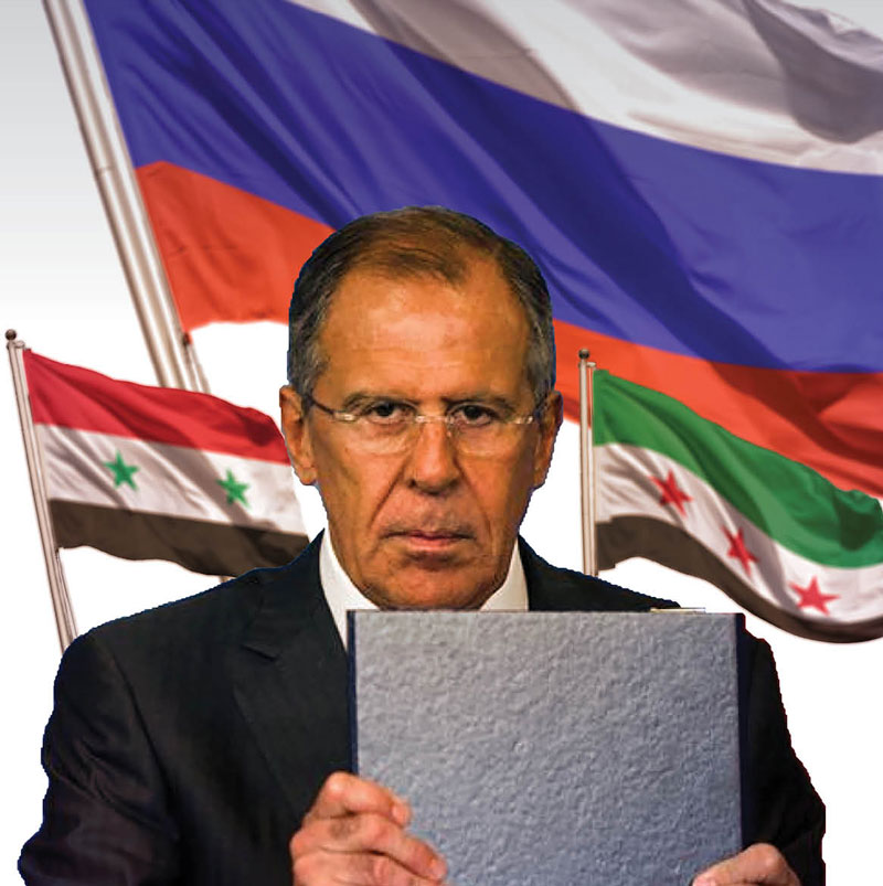 Russia wants to impose its vision to reach the Syrian constitution (modified by Enab Baladi)