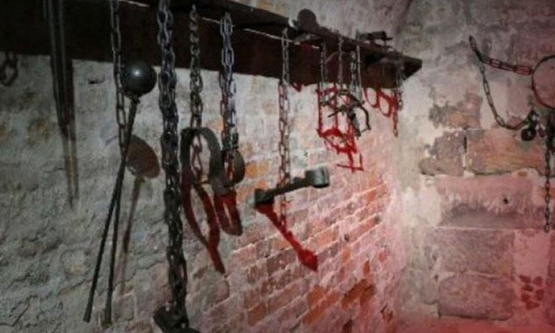 Torture tools in Assad's prisons (Expressive)