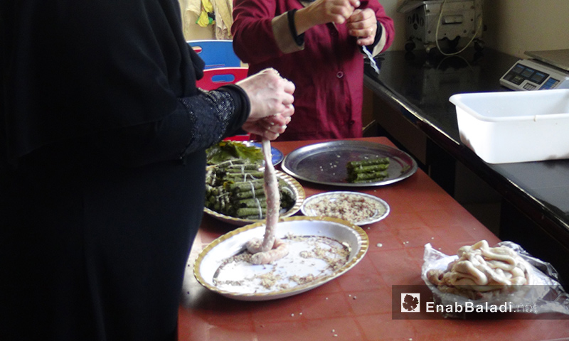 """Um al-Ahrar"" Kitchen, Idlib – July 13, 2018 (Enab Baladi)"