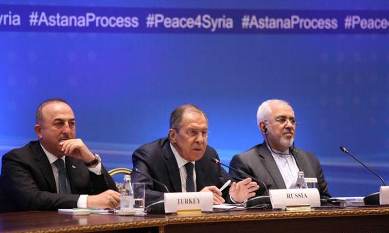 Leaders of guarantor countries of Astana Peace Talks (Reuters)