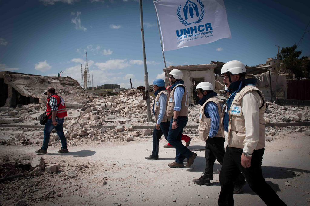 Staff members of the United Nations High Commissioner for Refugees (UNHCR)