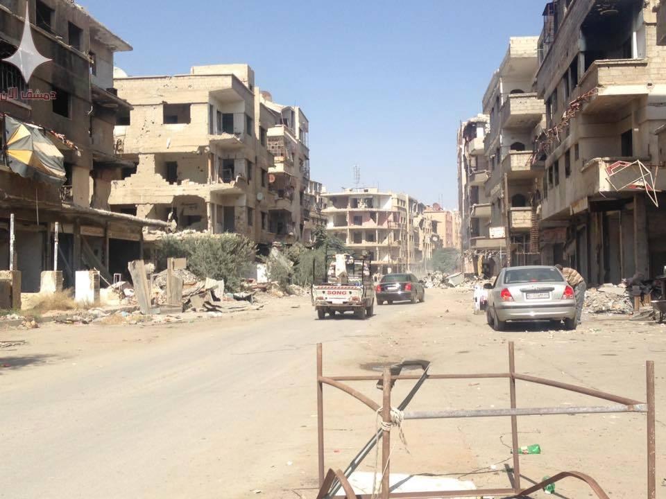 The city of Al-Malihah, rural Damascus – July 14, 2018 (Damascus Now)