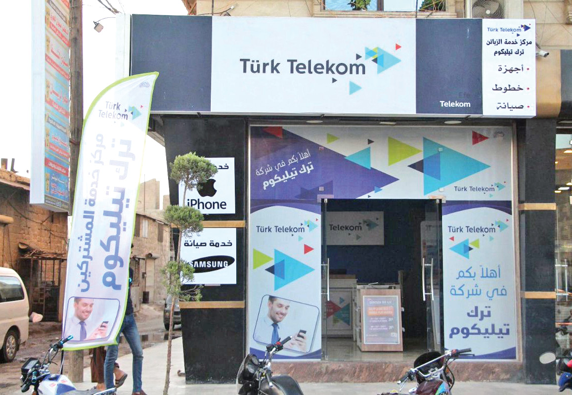 Turk Telekom opens its first service center in Aleppo countryside (Internet)