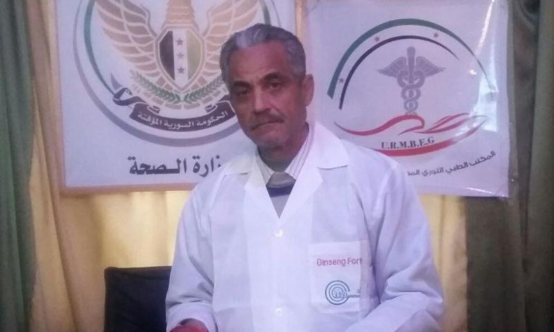 Brigadier General (Dr.) Mu'taz Htaitani (Ghouta Media Center)