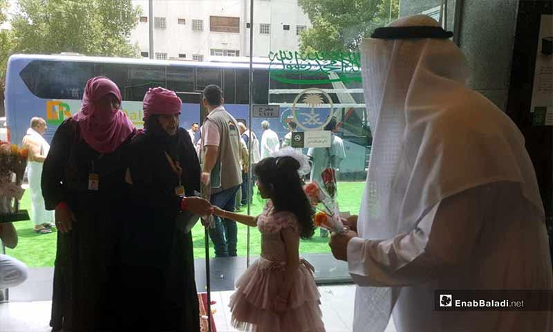 Syrian pilgrims welcomed in Mecca – August 8, 2018 (Enab Baladi)