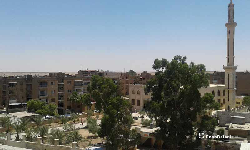 The neighborhoods of the city of Raqqa (Enab Baladi)