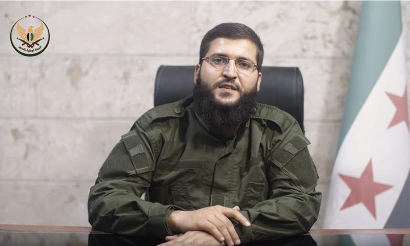 "Jaber Ali Basha, General Commander of ""Ahrar al-Sham"" (YouTube)"