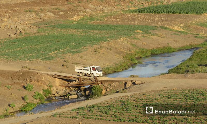 Agricultural lands in the city of al-Rastan, northern rural Homs – 2017 (Enab Baladi)