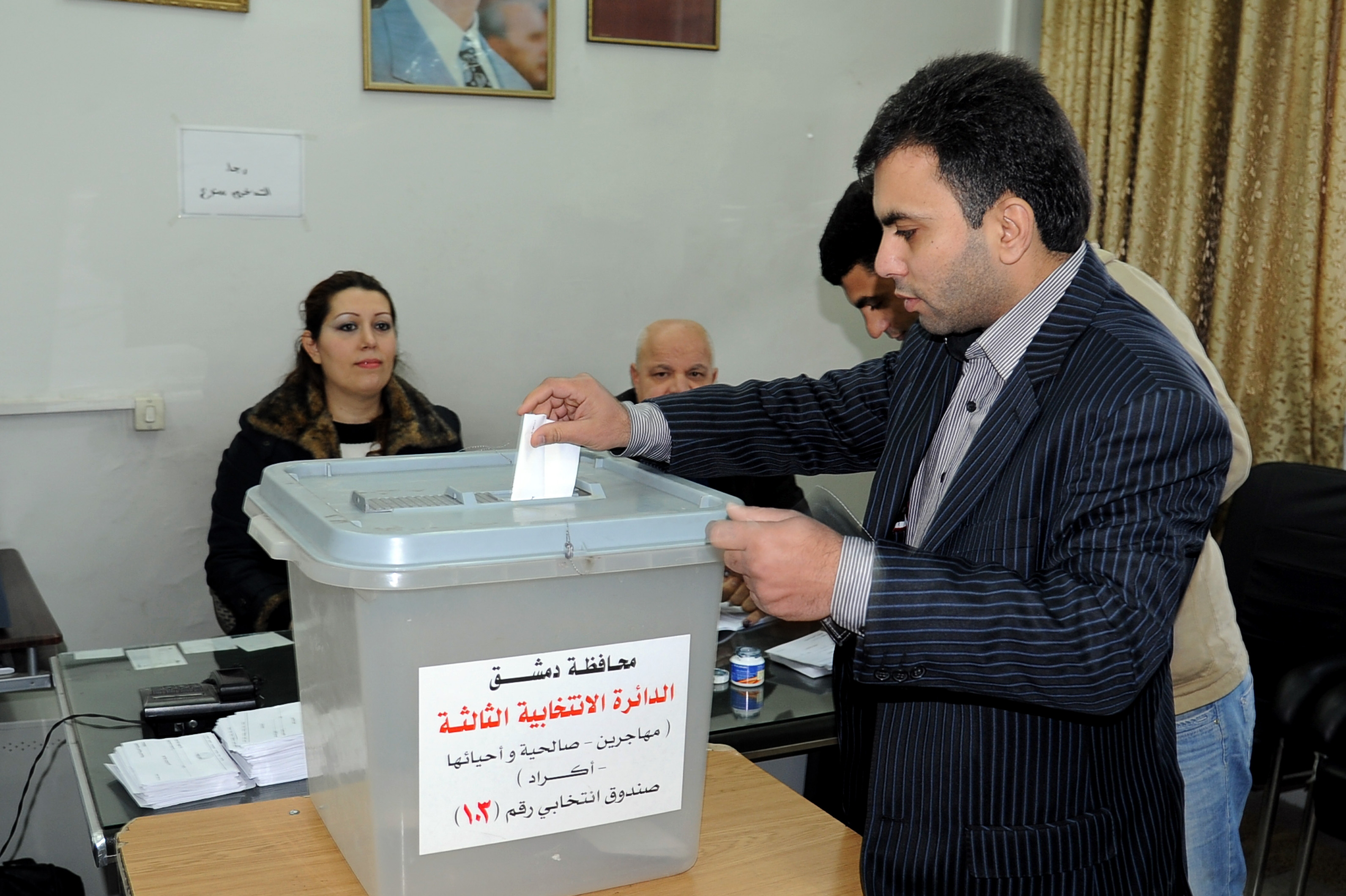 Preparations for local administration elections in Quneitra. Saturday, 19 September 2018