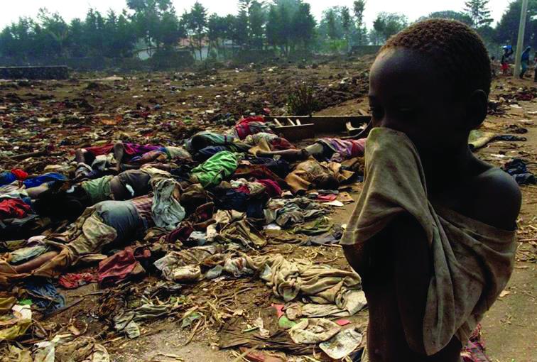 The massacres in Rwanda