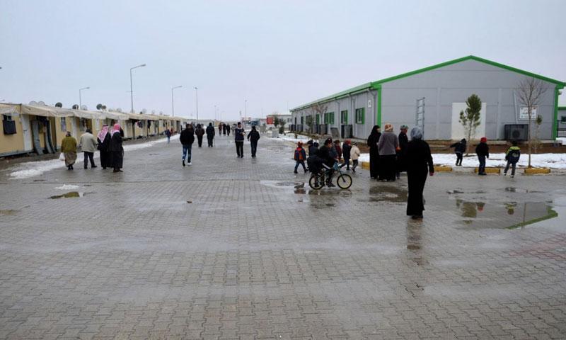 The Syrian refugee camps at the Şanlıurfa Province, Turkey (TRT)