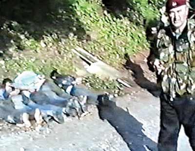 The massacres in Sarajevo