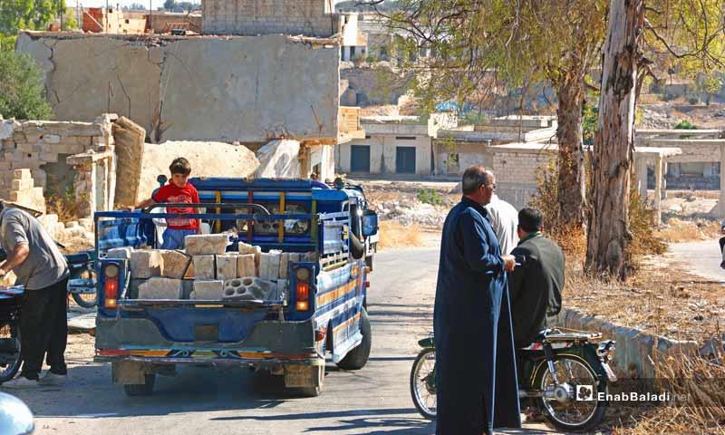 Expressive- the people of al-Lataminah village, rural Hama – September 26, 2018 (Enab Baladi)