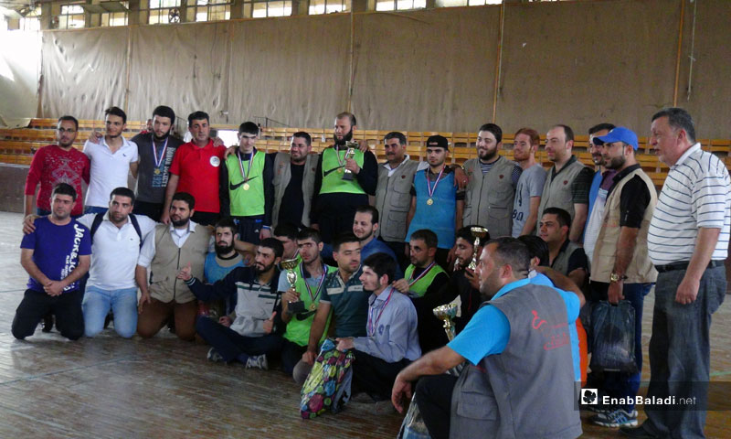 "Awarding the winners of the ""Seeing Hearts"" event, Idlib – September 30, 2018 (Enab Baladi)"