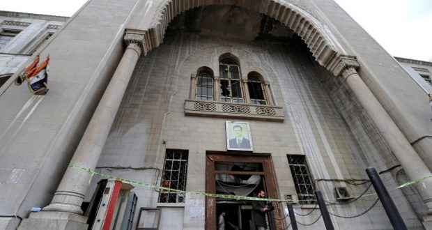 The Palace of Justice in Damascus - March 12, 2018 (Madar al-Youm)