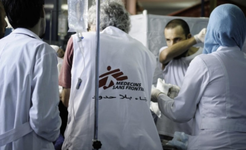 Médecins Sans Frontières (MSF) mobile hospital (MSF/Meldrum Robin)