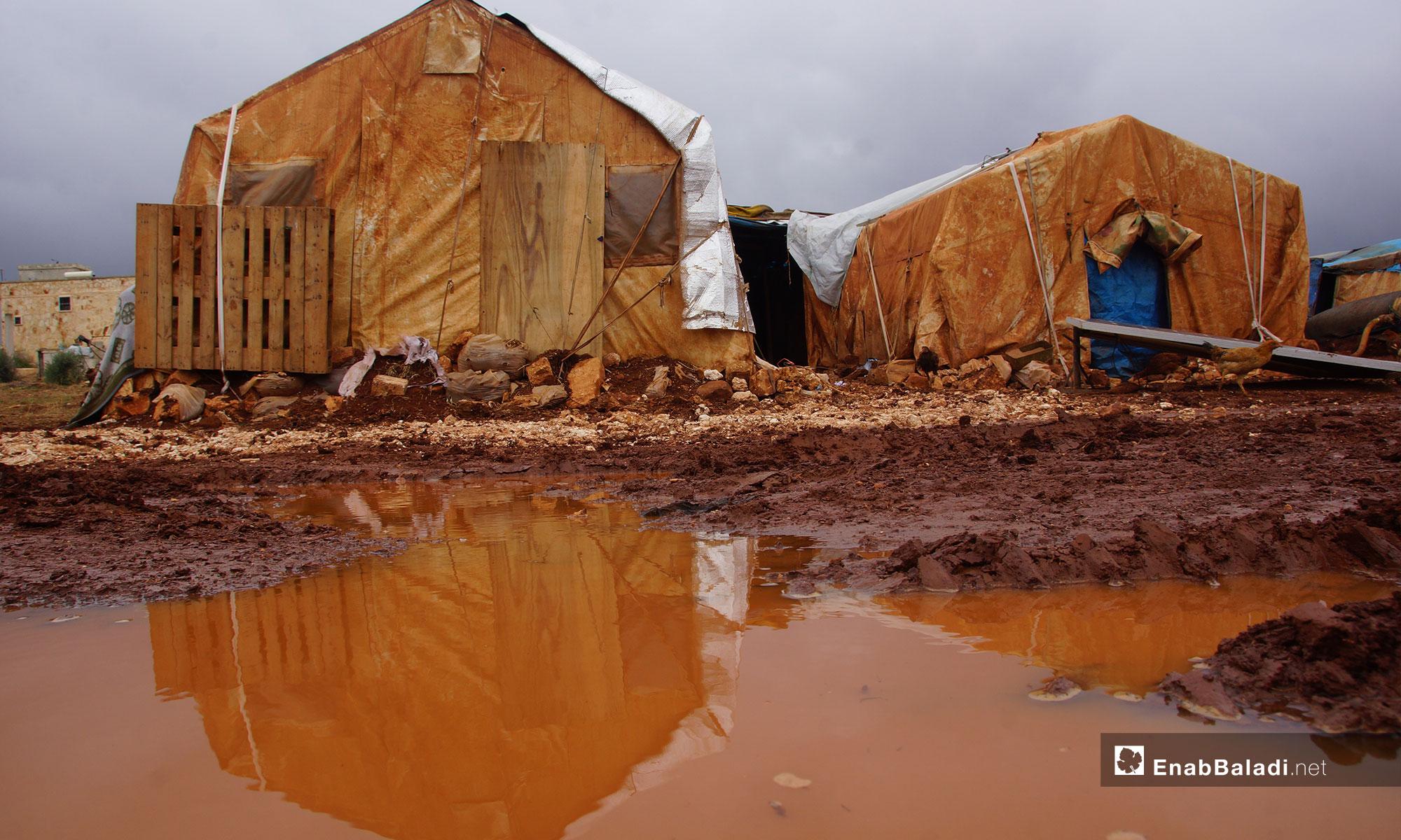 The suffering of rural Hama's people at the Abu al-Walid camp – November5, 2018 (Enab Baladi)
