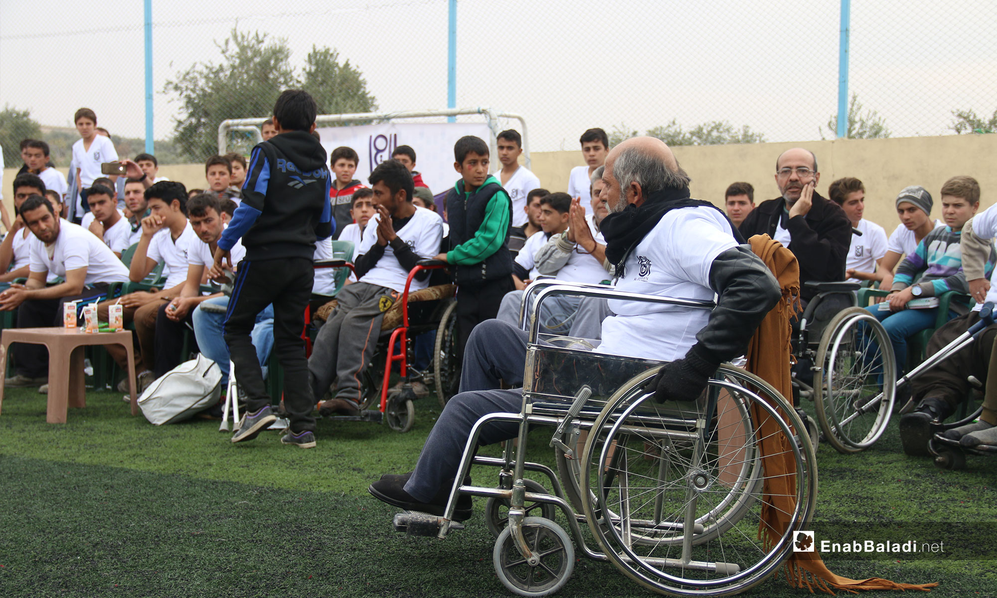 Marathon for people with disabilities and students in rural Idlib – November 22, 2018 (Enab Baladi)