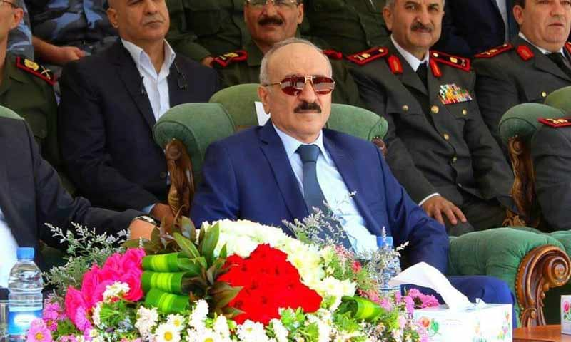 The new Syrian Minister of Interior Muhammad Khalid Rahmun (Facebook)
