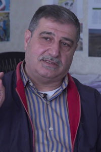 Madhhar Sharbaji director of governance and building capacities in the Local Administration Councils Unit (LACU)