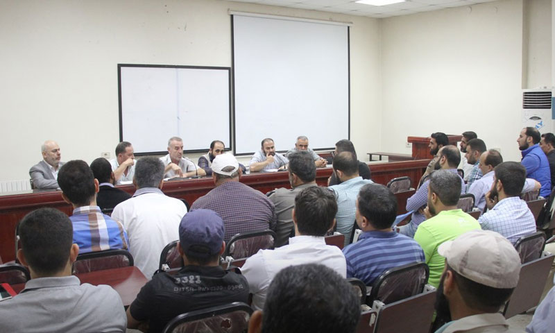 A symposium for local councils held by the Ministry of Local Administration of the Salvation Government - September 2018 (Ebba Agency)