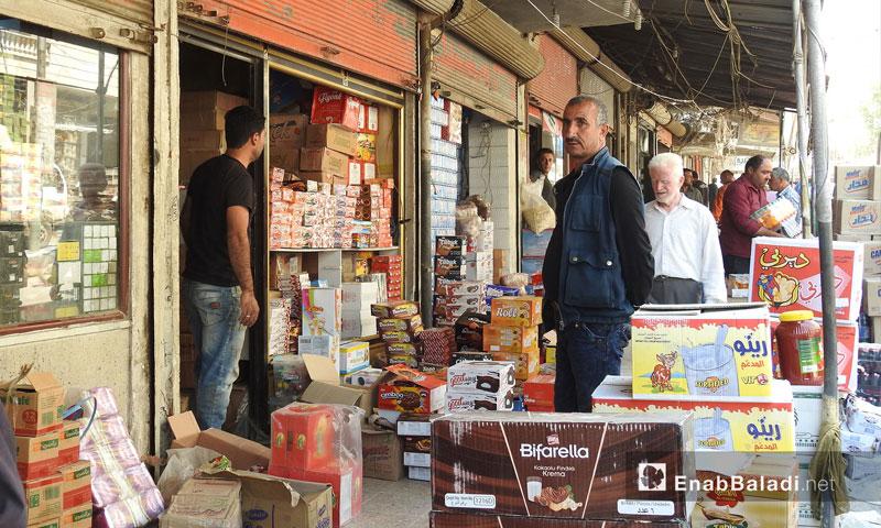 Afrin Markets, north of Aleppo - April 25, 2018 (Enab Baladi)