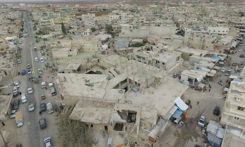 The city of Atarib, western rural Aleppo – October 26, 2018 (Atarib Media Center)