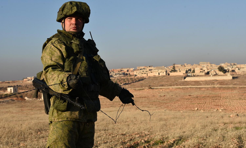 Russian fighter in Syria (kremlin)