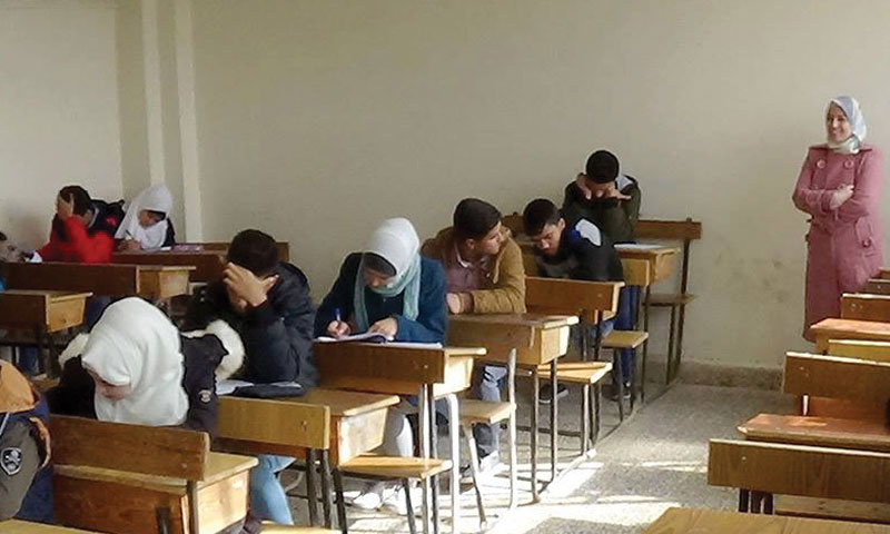 The third phase of the Syrian Science Olympiad contests – November 25, 2018 (SANA)