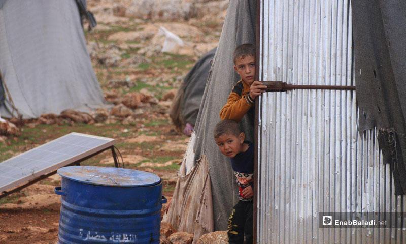 Ghadqa camp, eastern Idlib – December 20, 2018 (Enab Baladi)