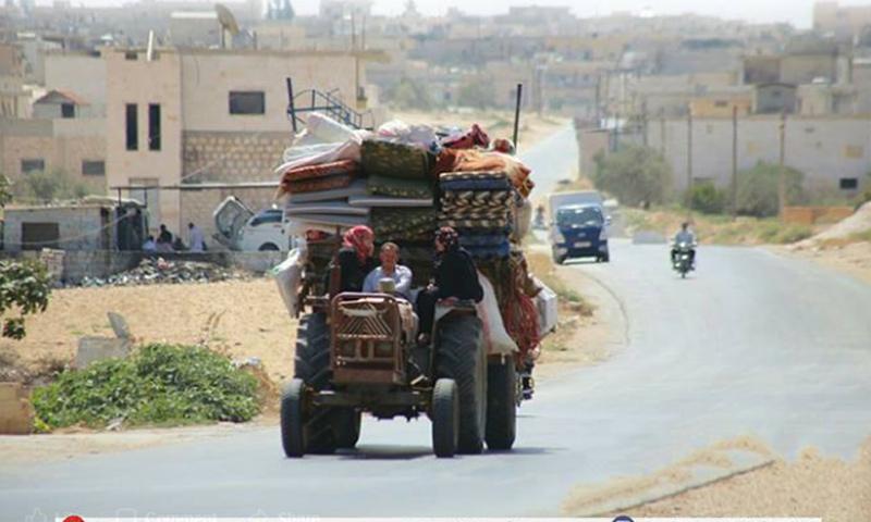 People displaced from eastern rural Maarrat al-Nu'man – December 2018 (Maarrat al-Nu'man Local Council)