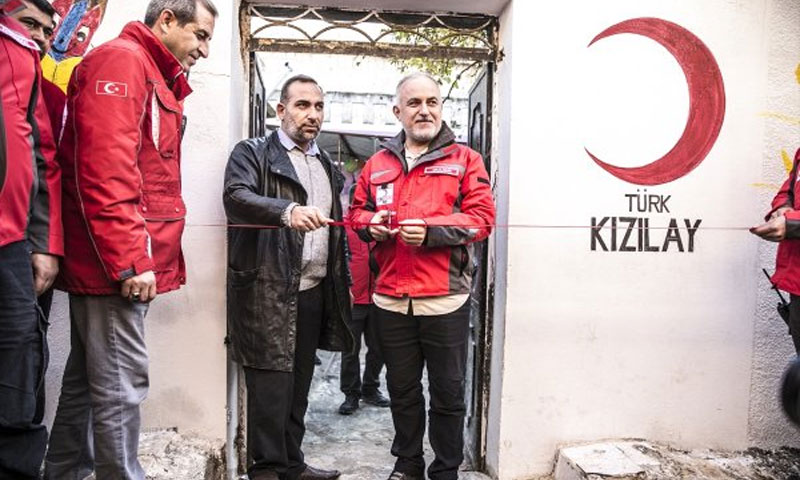 Sewing Workshop opened by Turkish Red Crescent in Khan Shaykhun– December 2, 2018 (The Red Crescent's Website)