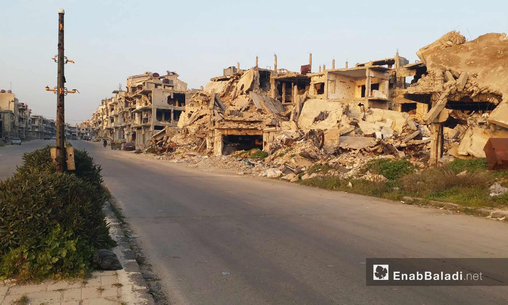 The old neighborhoods in the city of Homs - January 24, 2019 (Enab Baladi)