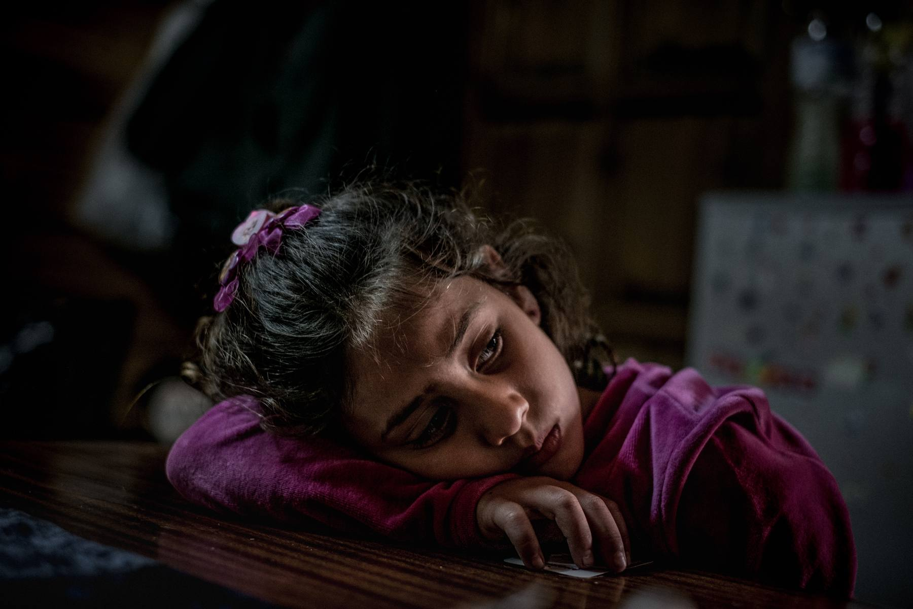 A refugee child in Greece March 14, 2017 (UNICEF)