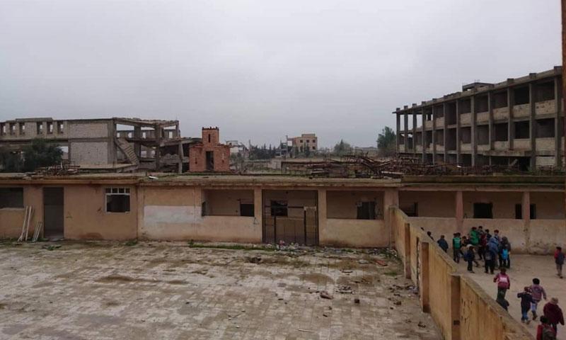 Ammar ibn Yasir School, city of Raqqa – December 24 (Mohammad Othman)