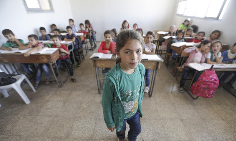 Schools are back in action in Idlib governorate – December 16, 2018 (UNICEF official website)